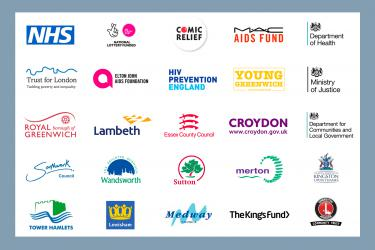 Logos of organisations who fund METRO Charity