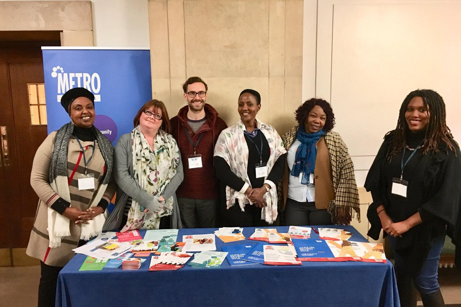 Staff from our HIV team at the CHIVA conference