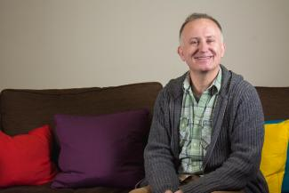 Simon from our support group for LGBT people with prostate cancer