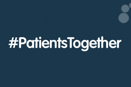 Patients Together hashtag