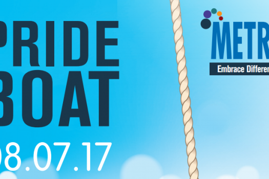 Pride Boat 08.07.17 METRO Logo Embrace Difference