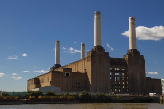 A view of Battersea Power Station in Wandsworth
