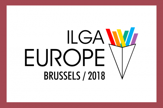 ILGA Europe Brussels 2018 logo