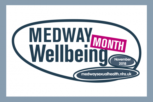 Logo for Medway Wellbeing Month 2018