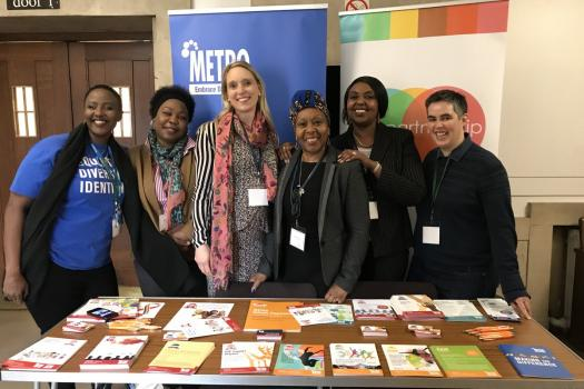 Our HIV team at the CHIVA conference 2019