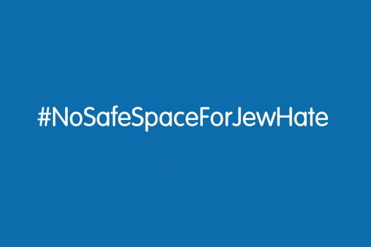 #NoSafeSpaceForJewHate