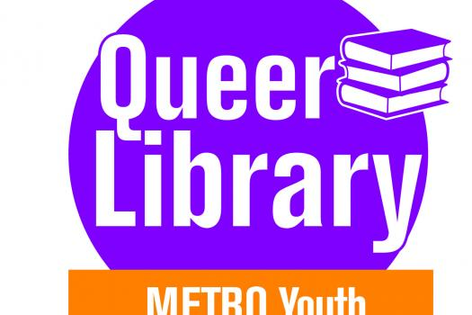 queer library logo