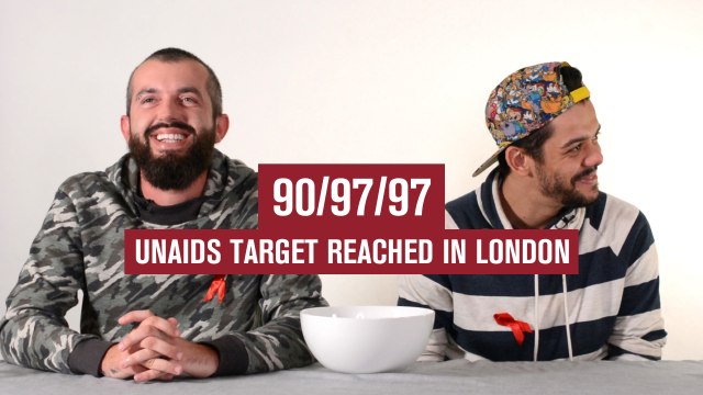 The UNAIDS 90-90-90 target has been met for the first time in London